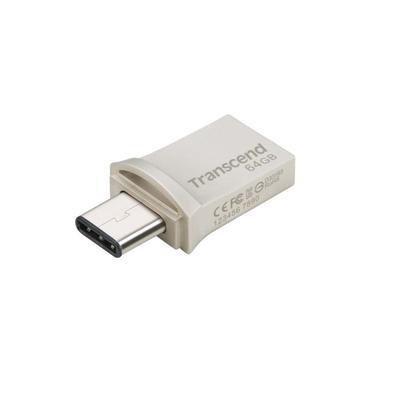 Флеш-память USB 3.1 64 Гб Transcend JetFlash 890 (TS64GJF890S)