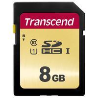 Карта памяти 8 ГБ SDHC Transcend TS8GSDC500S Class 10 UHS-I U3