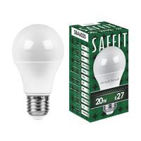 Лампа светодиодная Saffit 20 Вт E27 2700 К теплый белый свет