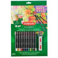 Набор карандашей для рисования Derwent Academy цветные в блистере