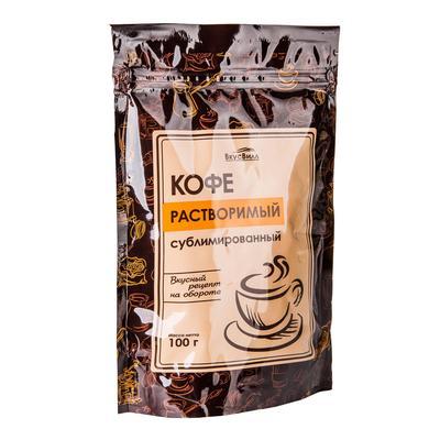 Кофе растворимый ВкусВилл 100 г (вакуумная упаковка)