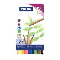 Карандаши цветные Milan 12 цветов