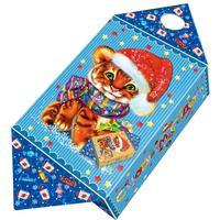 Новогодний сладкий подарок Большая конфета Тигр 800 г (с игрой)