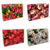 Пакет подарочный бумажный Omg-gift Цветы (42х62х15 см)