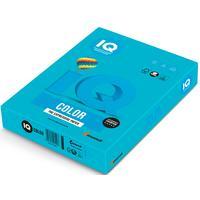 Бумага цветная для печати IQ Color синяя интенсив AB48 (А4, 80 г/кв.м, 500 листов)