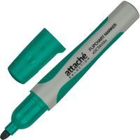 Маркер для бумаги для флипчартов Attache Selection Octavia зеленый (толщина линии 2-3 мм) круглый наконечник