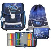 Ранец школьный MagTaller Evo Racing blue (с наполнением)