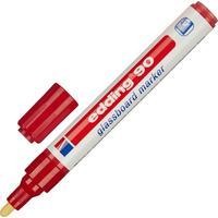 Маркер для стеклянных досок Edding E-90/002 красный (толщина линии 2-3 мм)