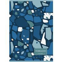 Тетрадь общая Academy Style Террацо А4 96 листов в клетку на скрепке (обложка в ассортименте)
