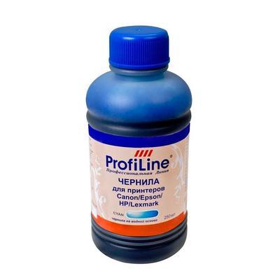 Универсальные чернила ProfiLine Premium для Canon/Epson/HP голубые совместимые