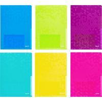 Папка-уголок Leitz Wow A4 пластиковая 200 мкм цвет ассорти (6 штук в упаковке)