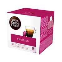 Кофе в капсулах для кофемашин Nescafe Dolce Gusto Espresso (16 штук в упаковке)