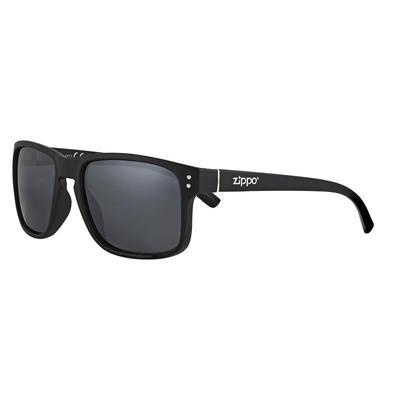 Очки солнцезащитные в чехле Zippo черные (OB78-04)