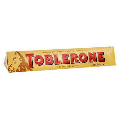 Шоколад Toblerone молочный с нугой 100 г