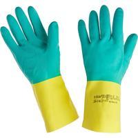 Перчатки КЩС Ansell AlphaTec Бай Колор 87-900 неопрен/латекс синие/желтые (размер 9,5-10, L)