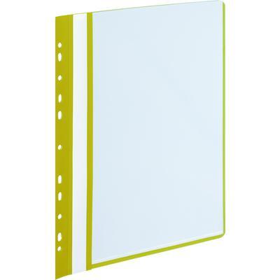 Папка файловая на 10 файлов Attache Economy A4 20 мм желтая (толщина обложки 0.16 мм)