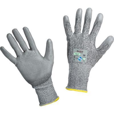 Перчатки рабочие с защитой от порезов Manipula Specialist Стилкат ПУ 5 полиэтилен/полиамид/лайкра (размер 10, XL, HPP-107/MG-466)