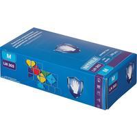 Перчатки медицинские смотровые нитриловые S&C LN303 нестерильные неопудренные фиолетовые размер M (200 штук в упаковке)