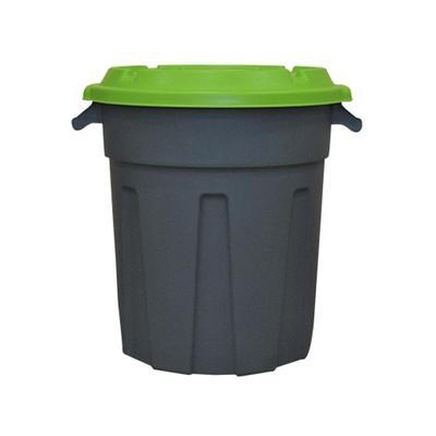 Бак для отходов 60 л пластиковый серый