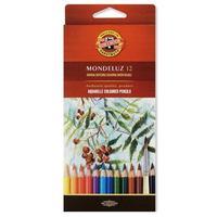 Карандаши акварельные Koh-I-Noor Mondeluz 12 цветов