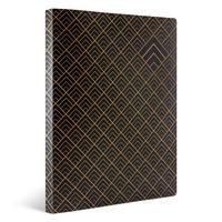Скоросшиватель пластиковый Комус A4 до 150 листов черный (толщина обложки 0.55 мм)