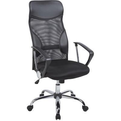 Уценка. Кресло для руководителя Easy Chair 506 TPU черное (ткань/сетка/искусственная кожа/пластик/металл). уц_меб