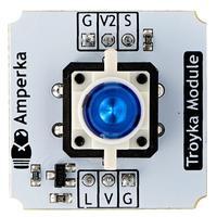 Кнопка со светодиодом Troyka-модуль Blue