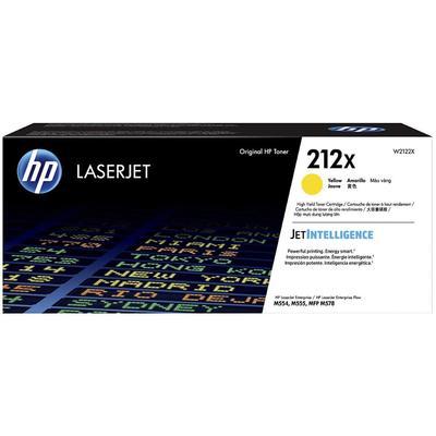 Картридж лазерный HP 212X Y W2122X желтый оригинальный повышенной емкости