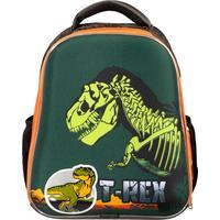 Ранец №1 School анатомический Basic T-Rex (неоновая подсветка корпуса на пульте д/у)