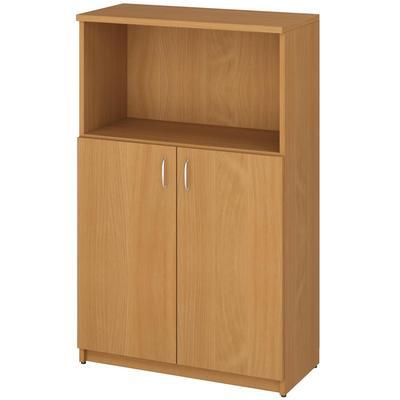 Шкаф для документов Эко/Этюд полузакрытый (бук бавария, 768х370х1229 мм)