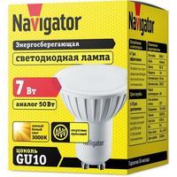 Лампа светодиодная Navigator NLL-PAR16-7-230-3K-GU10 7 Вт 3000К GU10 (94226)