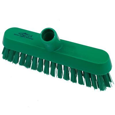 Щетка для пола Hillbrush В928G 23 см жесткая щетина (зеленая)