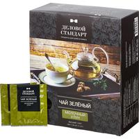 Чай Деловой стандарт зеленый молочный улун 100 пакетиков