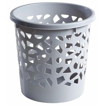 Корзина для мусора с держателем 10 л пластик цвет в ассортименте (26х26 см)