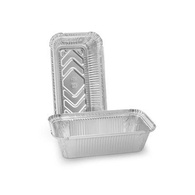 Форма алюминиевая прямоугольная Горница 410-010 650 мл (201х110х49 мм, 50 штук в упаковке)