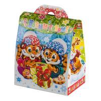 Новогодний сладкий подарок Дружба Тигрят 500 г (с сертификатом)