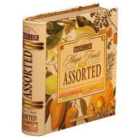 Чай подарочный Basilur Волшебные фрукты Чайная книга пакетированный черный с фруктовым вкусом 32 пакетика