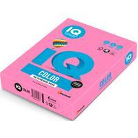 Бумага цветная для печати IQ Color розовая неон NEOPI (А4, 80 г/кв.м, 500 листов)