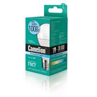 Лампа светодиодная Camelion  11 Вт Е27 грушевидная холодный белый свет
