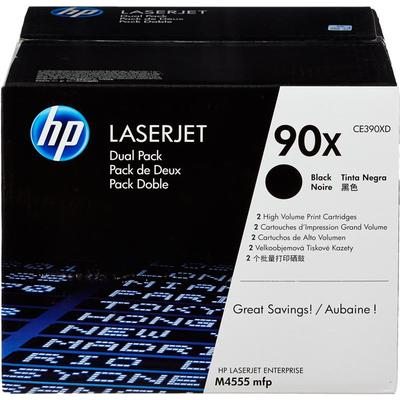 Картридж лазерный HP 90X CE390XD черный оригинальный повышенной емкости (двойная упаковка)