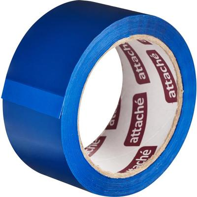 Клейкая лента упаковочная Attache 48 мм x 66 м 45 мкм синяя