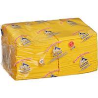 Салфетки бумажные Profi Pack 24x24 см желтые 2-слойные 250 штук в  упаковке
