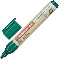 Маркер перманентный Edding Eco E-22/4 зеленый (толщина линии 1-5 мм) скошенный наконечник