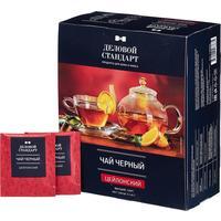 Чай Деловой стандарт черный 100 пакетиков