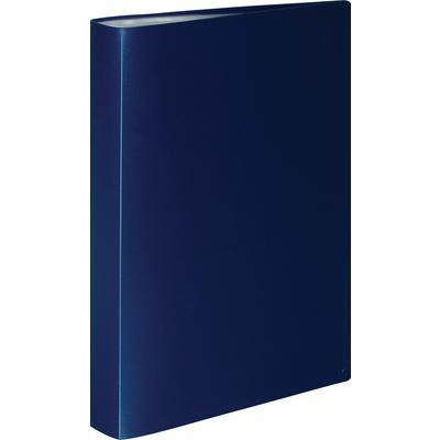 Папка файловая на 100 файлов Attache A4 35 мм синяя (толщина обложки 0.6 мм)