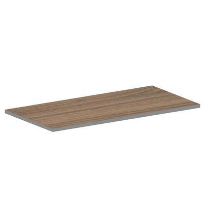 Столешница для стола ЛДСП (темный дуб шамони, 1600х800х16 мм)