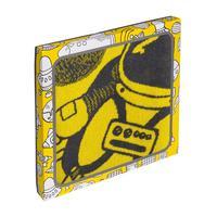 Полотенце махровое Cleanelly The best in the world желтое (50x90 см)