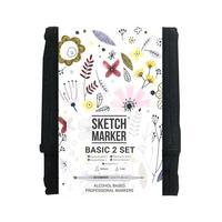 Набор маркеров Sketchmarker Basic 2 12 цветов