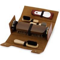 Набор для чистки обуви Сундучок коричневый (841418)