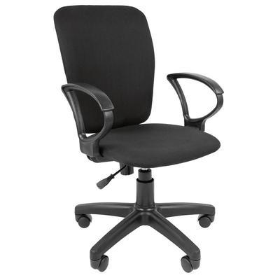 Кресло офисное Стандарт CT-98 черное (ткань, пластик)